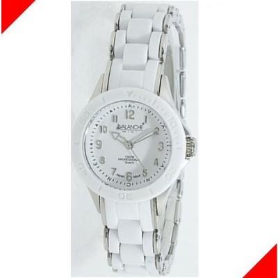 腕時計 レディース アバランチ(AVALANCHE) ヌーボー(NOUVEAU) ホワイト×シルバー色 1AQAV1025WHSIL / 当店再検品済