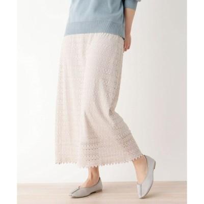スカート 【M-L】レーススカート