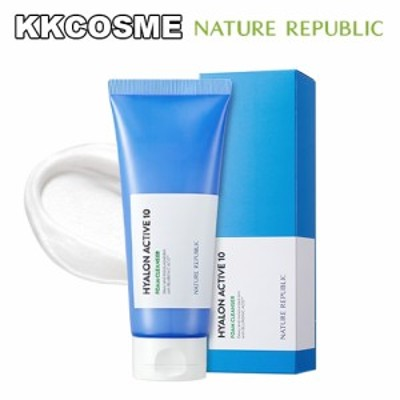 nature republic ネイチャーリパブリック ヒアルロンアクティブ10 フォームクレンザー 150ml 韓国コスメ 正規品