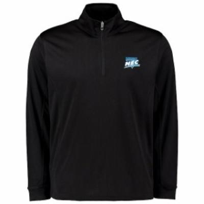 Vantage Apparel バンテージ アパレル スポーツ用品  NEC Black Mesh 1/4 Zip Pullover Jacket