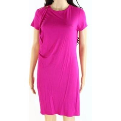 Ivanka Trump イバンカトランプ ファッション ドレス Ivanka Trump Womens Shift Dress Pink Size Small S Short Sleeve Crewneck