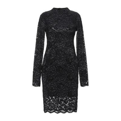 ゲス GUESS ミニワンピース&ドレス ブラック M ナイロン 92% / ポリウレタン 8% ミニワンピース&ドレス