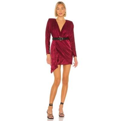 ハウスオブハーロウ1960 House of Harlow 1960 レディース ワンピース ワンピース・ドレス x REVOLVE Caterina Dress Currant Red