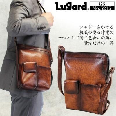 ショルダーバッグ メンズ 革 ブランド 日本製 Lugard ラガード G3 ジースリー 斜めがけバッグ 本革 レザー 青木鞄 メンズショルダーバッグ 送料無料