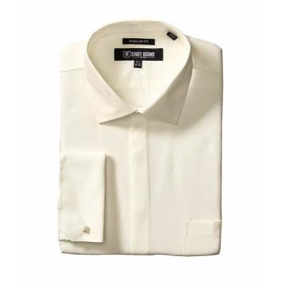 ステイシーアダムス シャツ トップス メンズ 39000 Solid Dress Shirt Ecru
