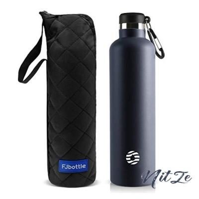 FJbottle 1リットル ステンレスボトル 真空断熱 保温保冷 水筒 第2世代 直飲み スポーツボトル 漏れなし NeoGuerrier