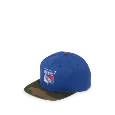 アメリカンニードル メンズ 帽子 アクセサリー NHL New York Rangers Snap Back Cap ROYAL/CAMO