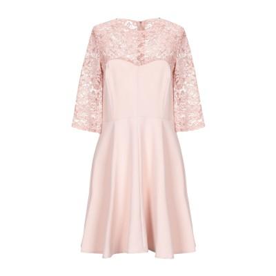 VICOLO ミニワンピース&ドレス ピンク M ポリエステル 88% / ポリウレタン 12% ミニワンピース&ドレス