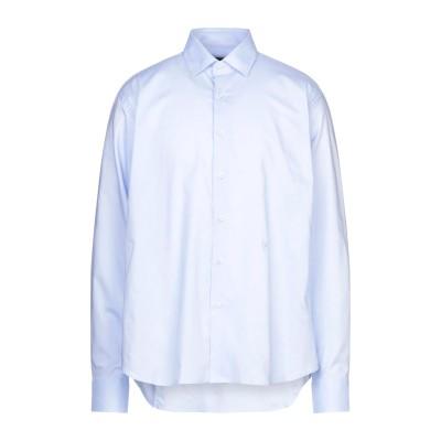 TRU TRUSSARDI シャツ スカイブルー 41 コットン 100% シャツ