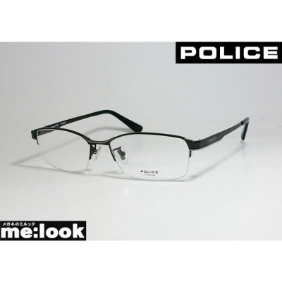 POLICE ポリス 眼鏡 メガネ フレーム VPLC97J-0530-54 度付可 ブラック