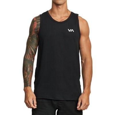 ルーカ メンズ シャツ トップス VA Sport Vent Training Tank Top Black