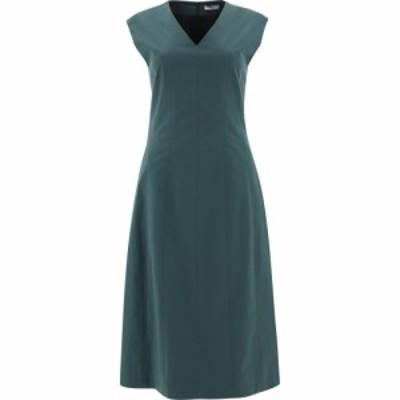 プレセリコ Peserico レディース ワンピース ノースリーブ ワンピース・ドレス Flared Sleeveless Dress Green