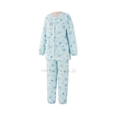 ワンタッチパジャマ 89605-12 サックス L ケアファッション 1入り 取寄品【介護福祉用具】