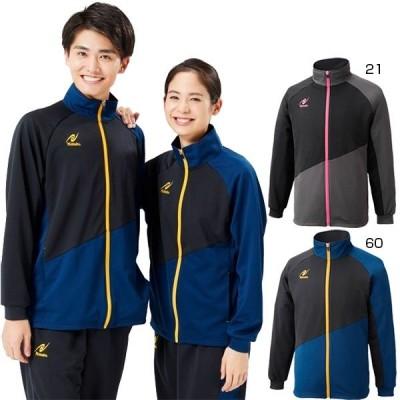 ニッタク メンズ レディース トレーニングSLシャツ TRAINING SL SHIRT 卓球ウェア ウォームアップウェア ジャージジャケット 上着 長袖 NW-2854