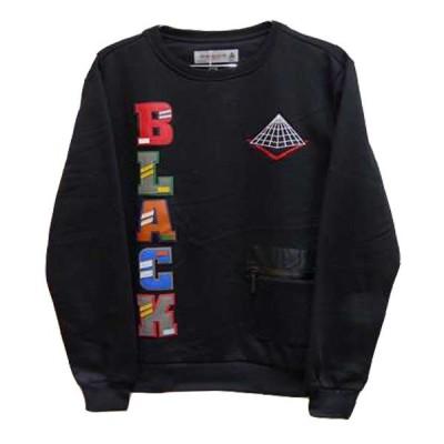 スウェット  トレーナー メンズ プルオーバー クリスブラウン  ブラックピラミッド Black Pyramid bp-tr002