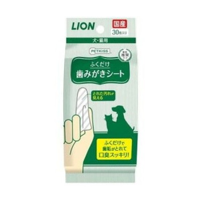 PETKISS ペットキッス 歯みがきシート/30枚