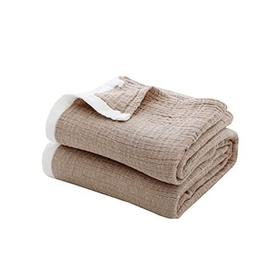 SE SOFTEXLY タオルケット シングル 天然綿100% ブランケット ガーゼケット ひざ掛け 肌触りが 洗える エアコン対策