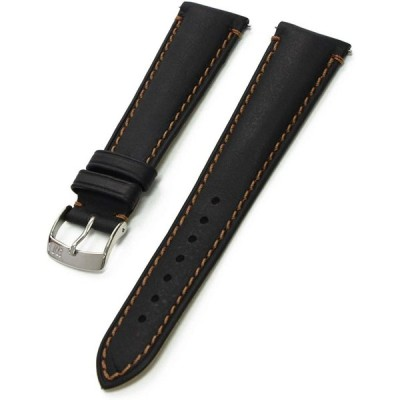 MORELLATO[モレラート] ホワイトニングカーフ時計バンド DERAIN(ドラン) ブラック 22mm