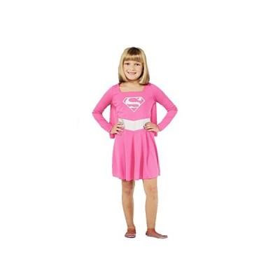 コスプレ衣装 コスチューム スーパーガール Rubie's Pink Supergirl Child Costume, Size Small (