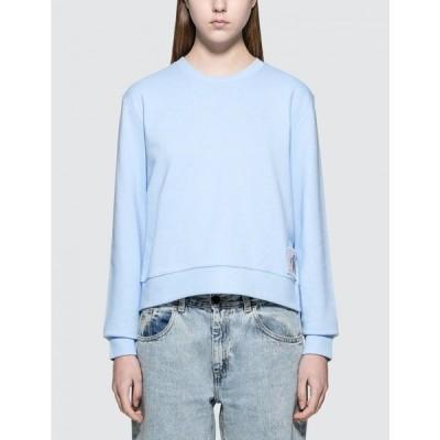カルバンクライン Calvin Klein Jeans レディース スウェット・トレーナー トップス Harrisi Sweatshirt Blue
