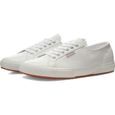 スペルガ Superga メンズ スニーカー シューズ・靴 2750 Nappa Leather White