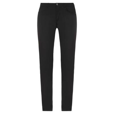 ディアナ ガッレージ DIANA GALLESI パンツ ブラック 42 コットン 97% / ポリウレタン 3% パンツ