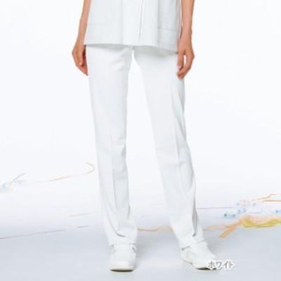 HOS4903 ナガイレーベン 女子パンツ [白衣 医療用 看護師 ナース 女性用 パンツ ズボン ホワイト] 白衣 医療用白衣 看護師用 ナース
