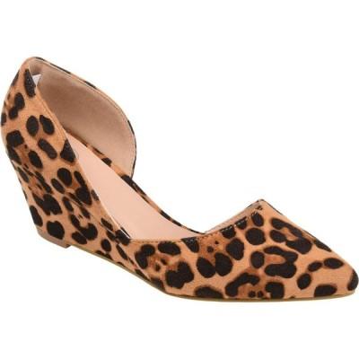 ジュルネ コレクション Journee Collection レディース シューズ・靴 ウェッジソール Lenox Wedge Leopard