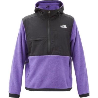 ザ ノースフェイス The North Face メンズ ジャケット アウター Denali 2 fleece-panelled jacket Purple