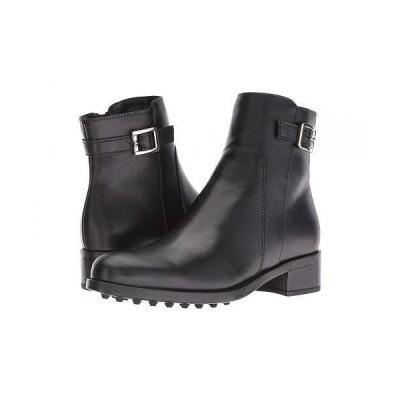 La Canadienne ラカナディアン レディース 女性用 シューズ 靴 ブーツ アンクルブーツ ショート Shelby - Black Leather