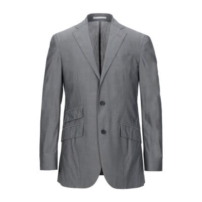 CC COLLECTION CORNELIANI テーラードジャケット 鉛色 50 コットン 75% / ナイロン 21% / ポリウレタン 4%