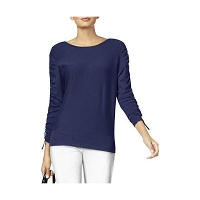 Alfani Women's Drawstring Tie-Sleeve Sweater (Andromeda, Large)並行輸入品 送料無料