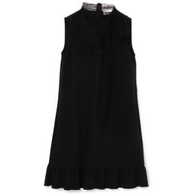 【RED VALENTINO】チュールレースブラックドレス