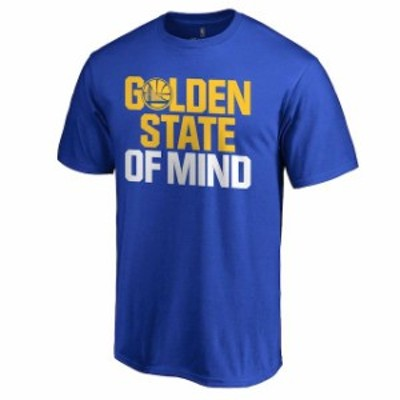 Fanatics Branded ファナティクス ブランド スポーツ用品  Golden State Warriors Royal Hometown Collection State Of Mind T-Shirt