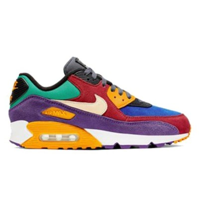 NIKE AIR MAX 90 QS VIOTECH RED HYPER GRAPE UNIVERSITY RED/PALE VANILLA-HYPER GRAPE