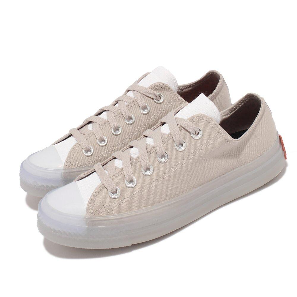 CONVERSE 休閒鞋 All Star CX 穿搭 男女鞋 基本款 帆布 果凍底 拼接 情侶鞋 灰 白 [171401C]