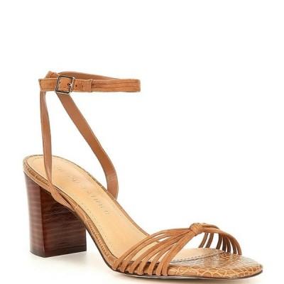 ギブソンアンドラティマー レディース サンダル シューズ Cordelia Suede Strappy Block Heel Sandals