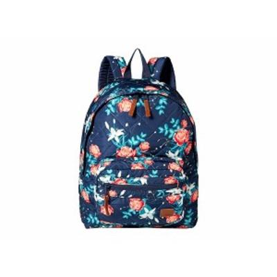 ロキシー レディース バックパック・リュックサック バッグ Morning Light Backpack Dress Blues Garden Lily