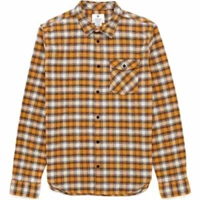 ディーシー DC メンズ シャツ トップス marthals shirt Sudan Brown