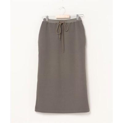 スカート ダンボールロングタイトスカート