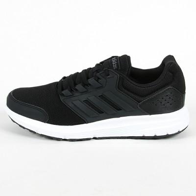 送料無料!☆アディダス adidas スニーカー メンズ GLX4 M 36163 ブラック BLACK 25~28cm 靴 シューズ(27)