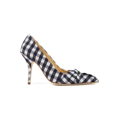 マージュ MAJE レディース パンプス シューズ・靴 knotted gingham woven pumps White