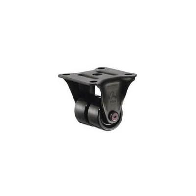 ハンマーキャスター 低床式中荷重用キャスター(ナイロン車輪・固定式)車輪径50mm 550R-N2-50