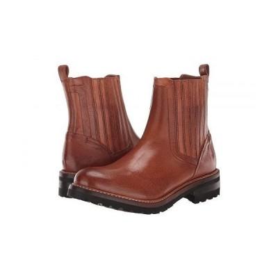 Frye フライ レディース 女性用 シューズ 靴 ブーツ チェルシーブーツ アンクル Ella Moto Chelsea - Cognac