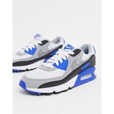 ナイキ レディース スニーカー シューズ Nike Air Max 90 sneaker in blue and gray Blue/gray