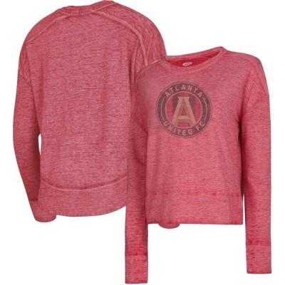 コンセプツ スポーツ レディース パーカー・スウェット アウター Atlanta United FC Concepts Sport Women's Surge Raglan Sweatshirt