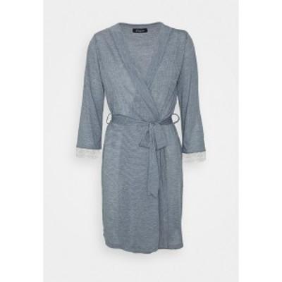 エタム レディース ワンピース トップス WARM DAY DESHABILLE - Dressing gown - marine marine