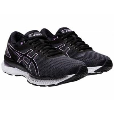 ASICS アシックス レディース 女性用 シューズ 靴 スニーカー 運動靴 GEL-Nimbus(R) 22 Black/Lilac Tech【送料無料】