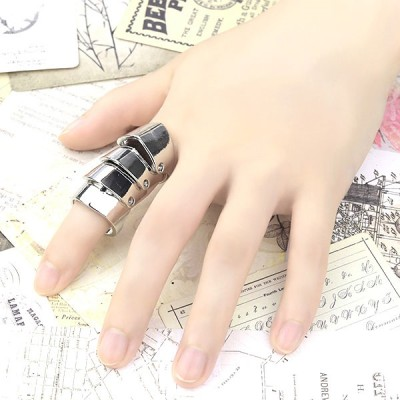 送料無料 指輪 リング アーマーリング 鎧 甲冑 クロウ 爪 ユニーク メンズリング レディースリング プレゼント ギフト