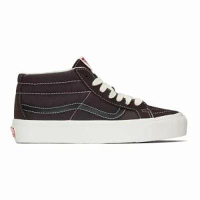 ヴァンズ スニーカー Brown OG Sk8-Mid LX Sneakers